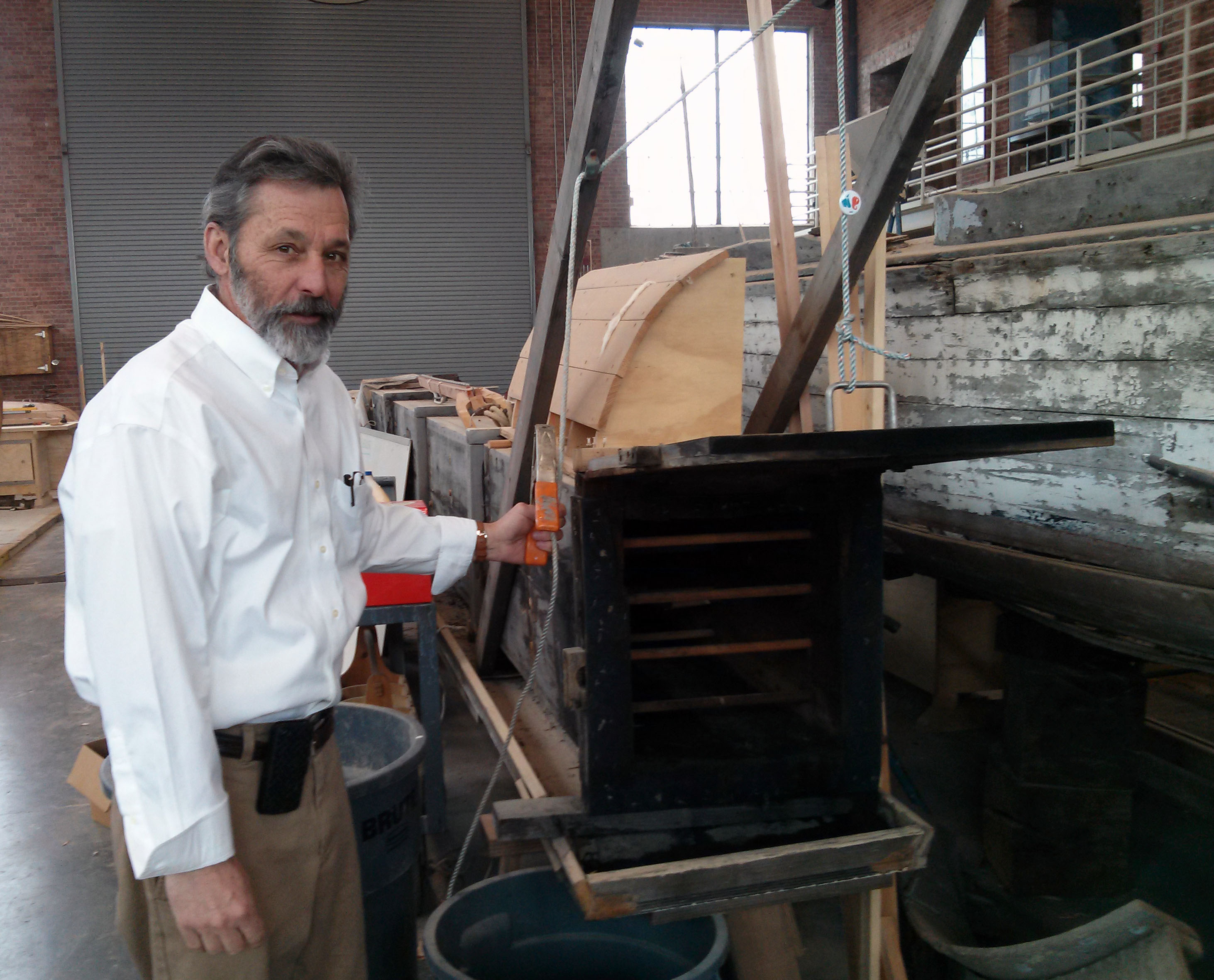 Images From a Visit to IYRS: A Trades & Technology School in Newport, RI