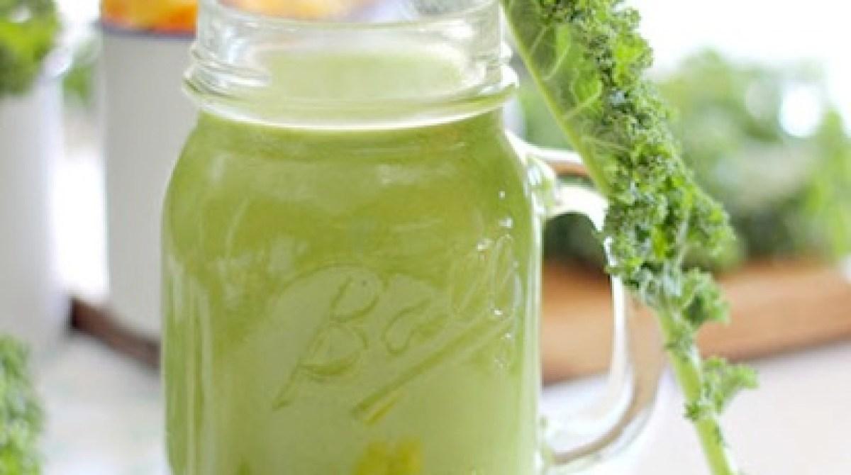 Recipe: Kale Mango Smoothie