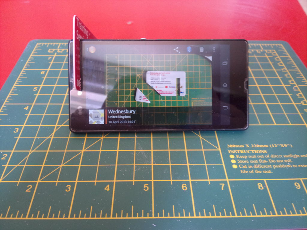 How-To: Credit Card Phone Stand