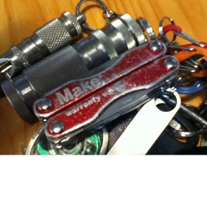 """""""I may sound like I am preaching to the choir, but when Leatherman appeared, the early models were all so big. The Voider fits on my key chain. I think a great tool is one you love so much you carry it with you every day, and use it almost every day too."""""""