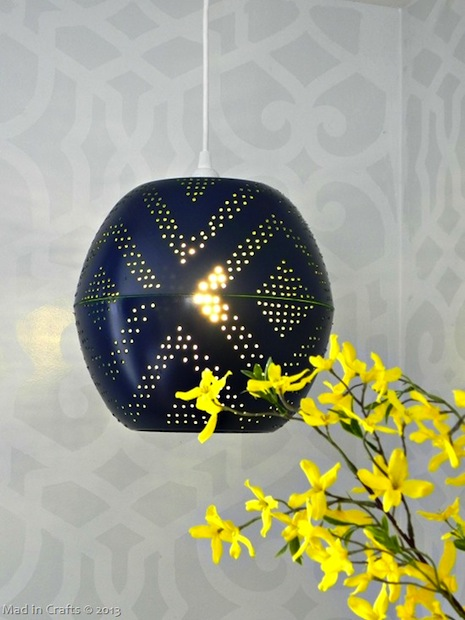 How-To: West Elm-Inspired Globe Pendant Lamp