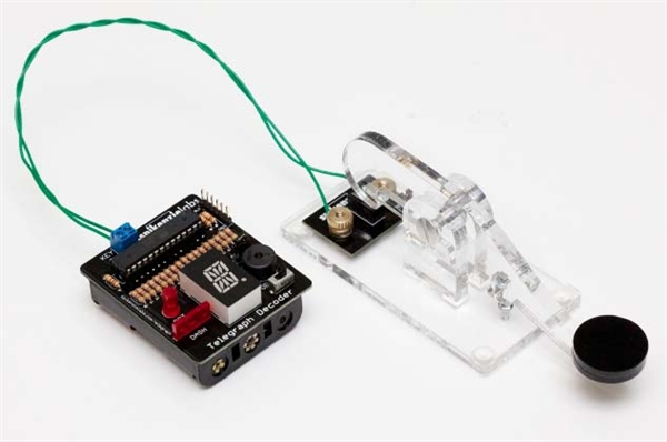 New in the Maker Shed: Telegraph Decoder and Calculator Kits from Spikenzie Labs