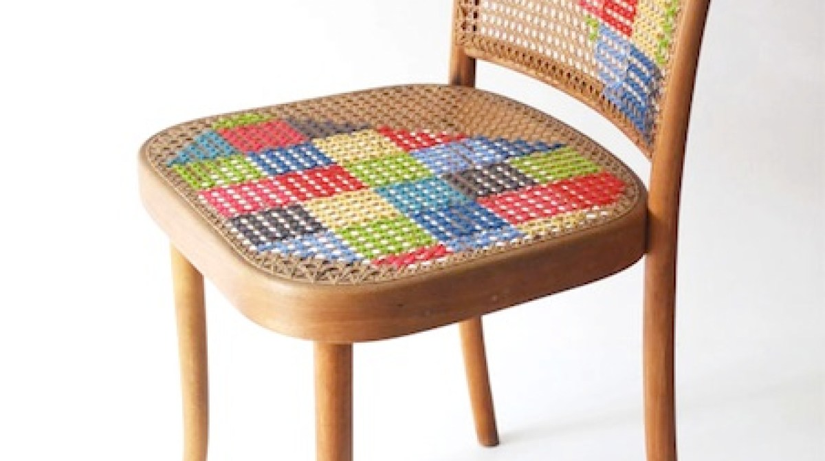 How-To: Cross-Stitch Chair
