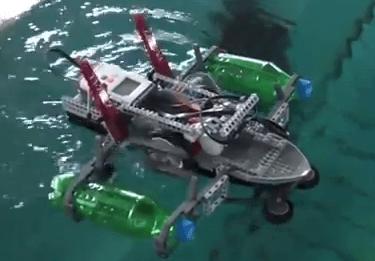 Lego Mindstorms Paddleboat