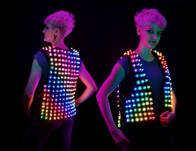 Pitches with Prototypes: The Pixeldelic Vest