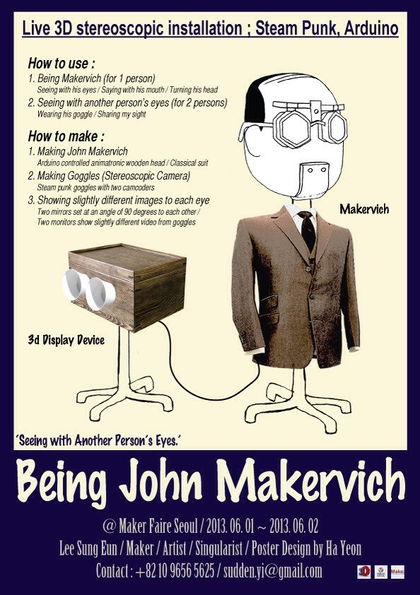 """""""Being John Makervich"""" and Musical Chess at Maker Faire Seoul"""