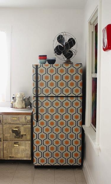 How-To: Wallpaper Your Fridge