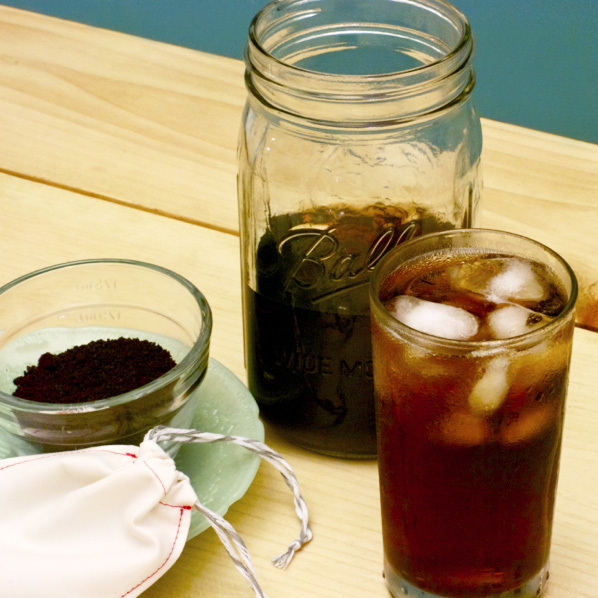 Flashback: Cold Brew Coffee with Reusable Coffee Bag