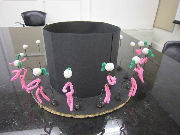 Pipe Cleaners Make for Elegant Zoetrope