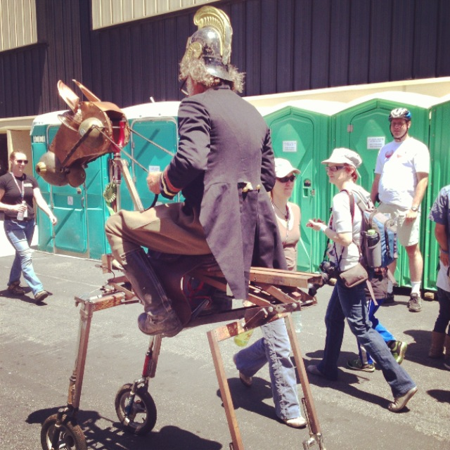 More Wheeled Wonders at Maker Faire