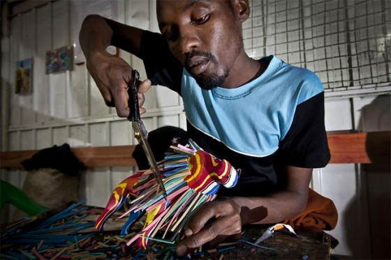 Toys Made From Salvaged Flip-flops in Kenya