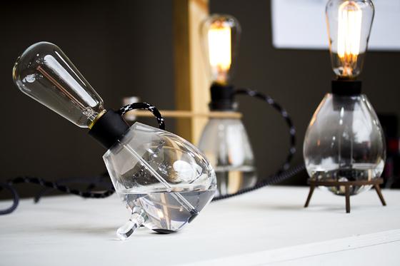 Conductive Paint Liquidity Lamps