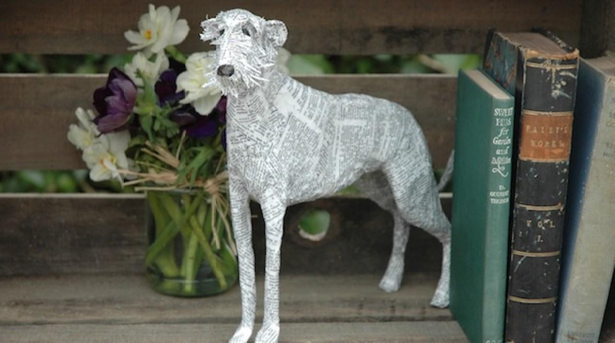Papier-Mâché Dogs by Lorraine Corrigan