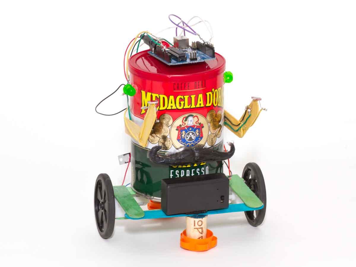 Maker Camp: Robots, Junk, and Art