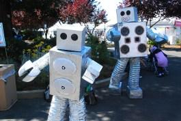 Dancing the robot.