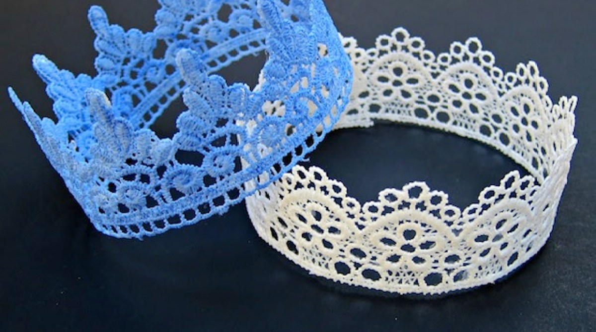 How-To: Lace Crowns