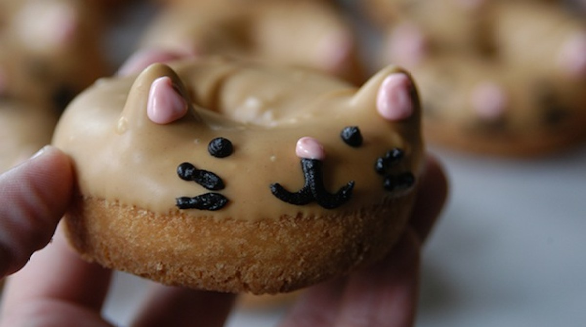 How-To: Kitty Cat Donuts