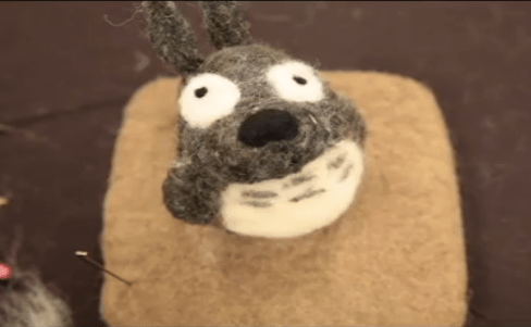 How-To: Needle-Felted Totoro + Interview with Artist Jackie Huang