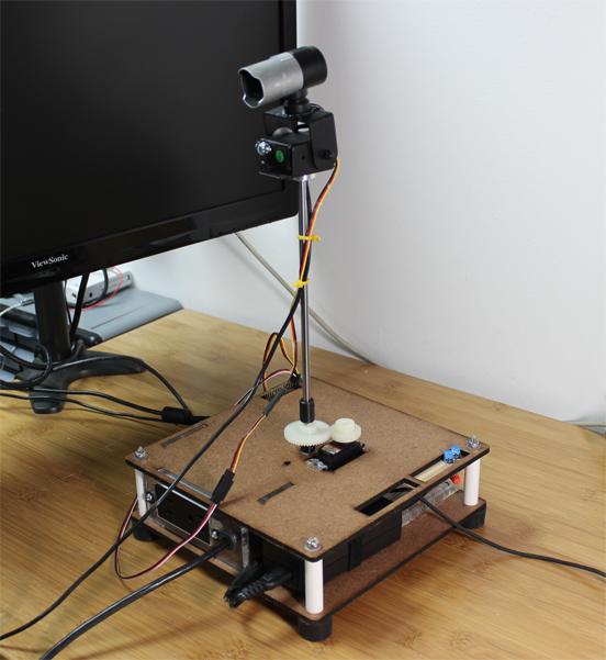 RasPi-Controlled Remote Presence Platform
