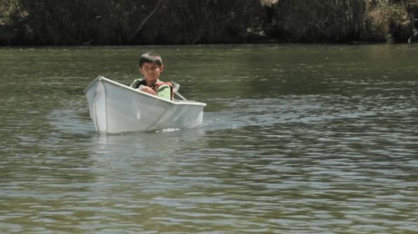 Bodhi's Boat and Pony Trap at Austin Mini Maker Faire
