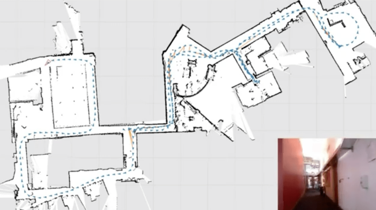Room Mapping mapping buildings with a kinect | make: