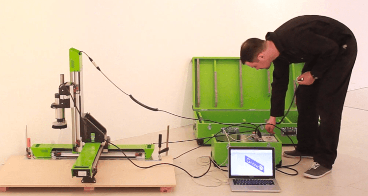 Grow: A Portable CNC Router System