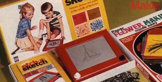 "Make: Inventions ""Etch A Sketch"""