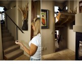 If you want to go completely nuts with secret rooms in your house, you may need to call in a hidden passageway consult. Yes, they exist. Check out Creative Home Engineering for all of your candlestick-controlled secret passageway needs.