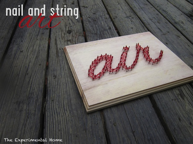 How-To: Deck-Friendly String Art