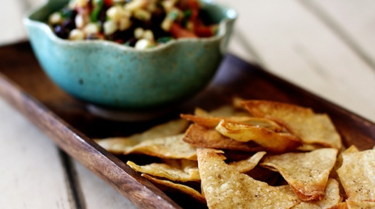 Flashback: Baked Cumin Lime Tortilla Chips