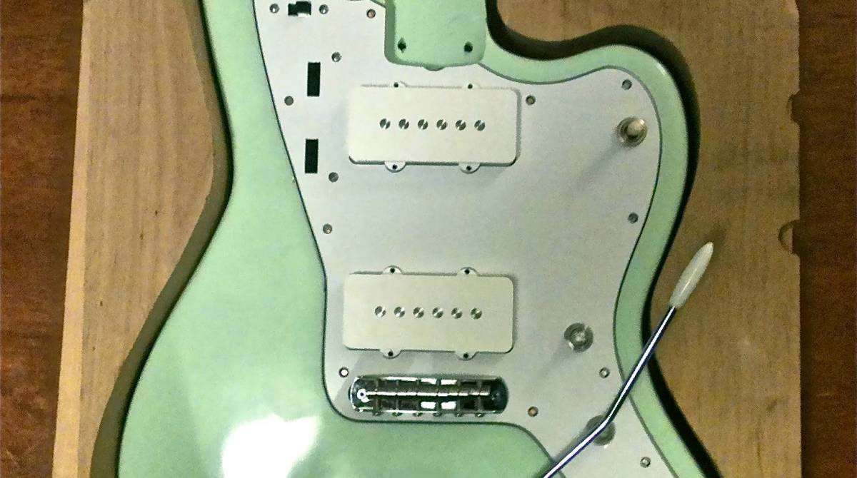 Fender Jazzmaster-Style Guitar, Built from Scratch