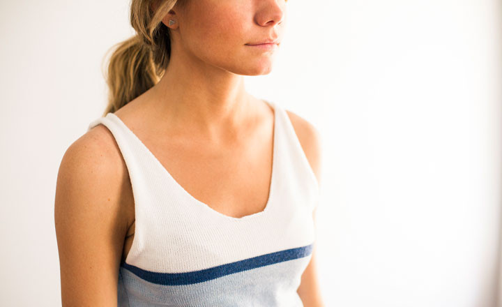 How-To: All-In-One-Piece Tank Top on a Knitting Machine