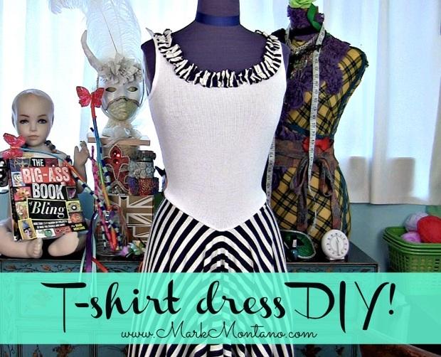 How-To: DIY T-Shirt Dress