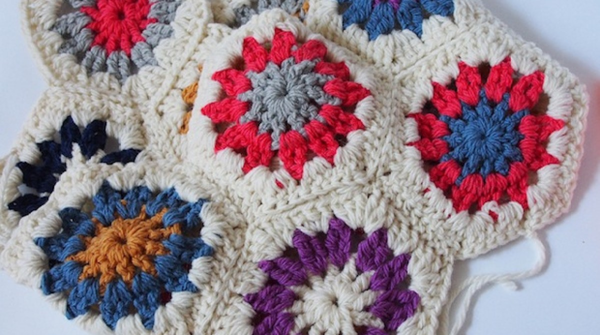 How-To: 10 Minute Crocheted Hexagons