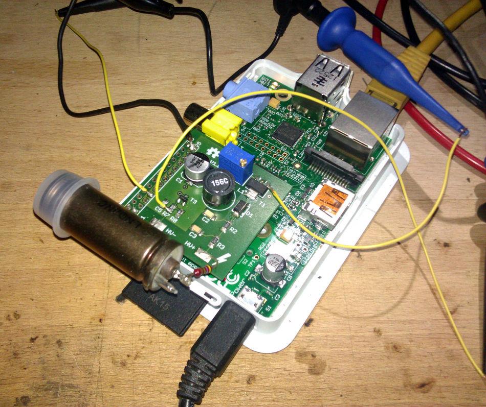 RPi Geiger Counter