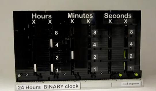 Lego Binary Clock