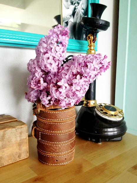 How-To: Leather-Wrapped Vase