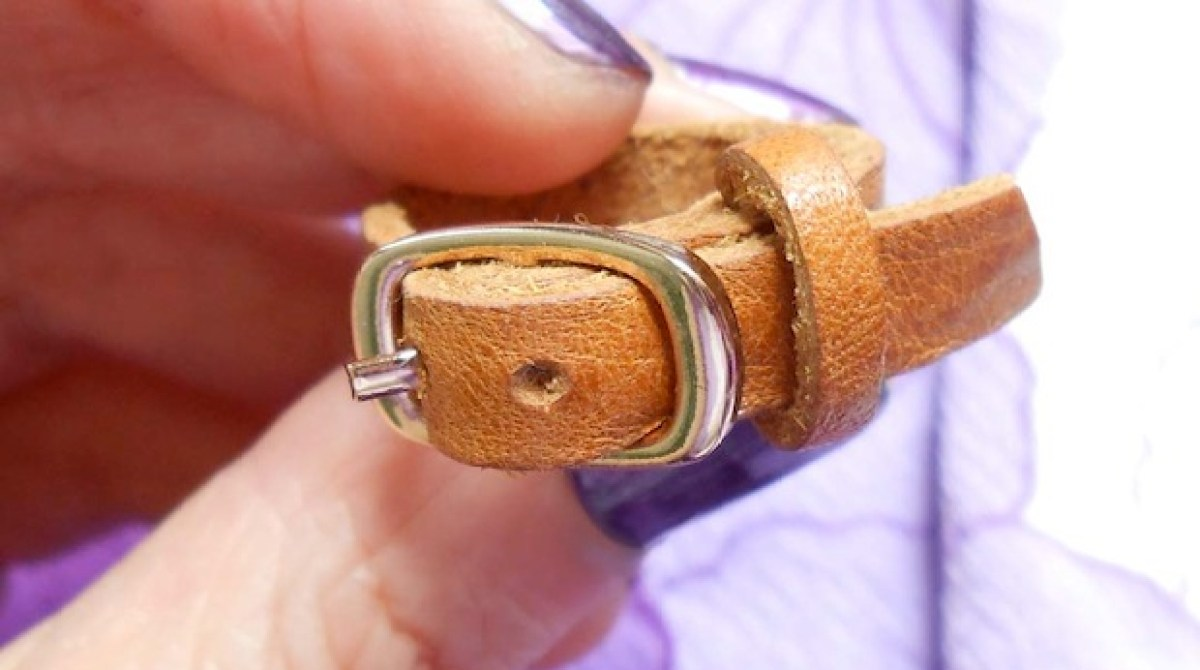How-To: Mini Leather Belt Ring