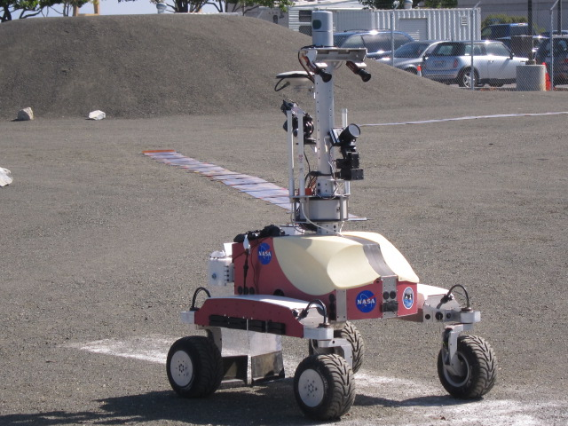Running a Rover by Remote: NASA Tests Telerobotics