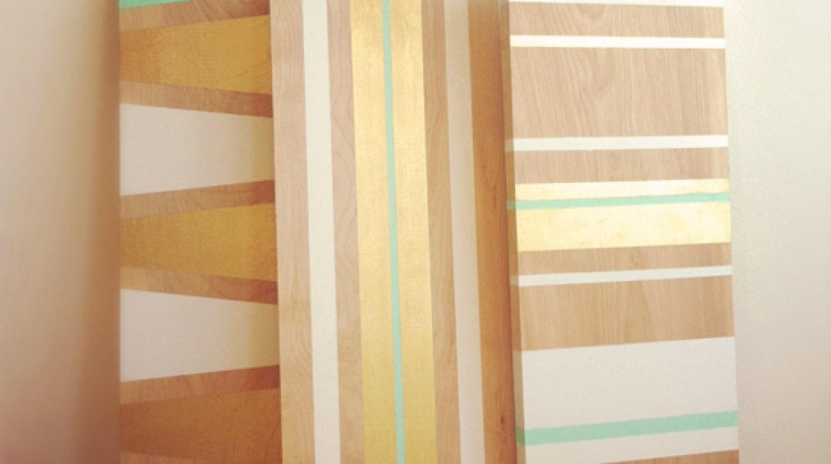 Make Painted Shelves