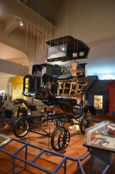 The Ford Model T has a prominent place in the museum, but this exploded perspective on the T provides a new way to understand the car's design.