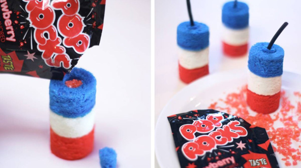 How-To: Firecracker Cupcakes