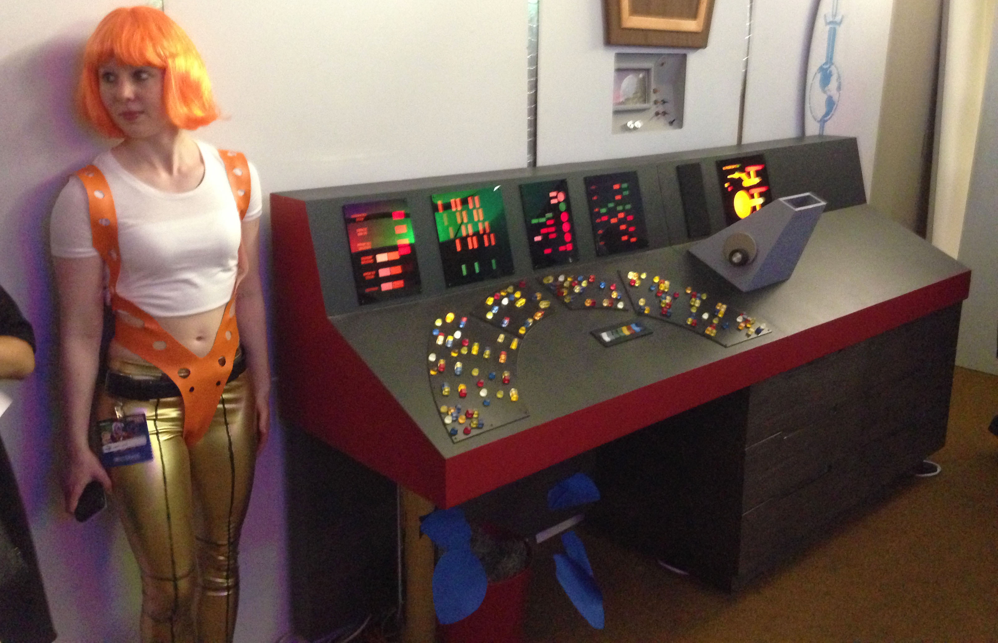 Building a Classic Star Trek Control Panel