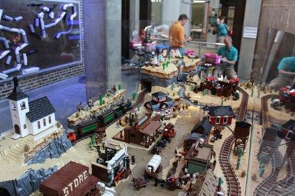 The old Lego west.