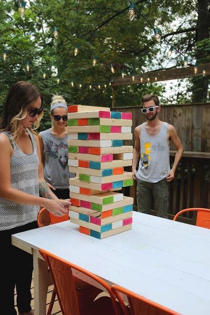 How-To: Giant Jenga-Inspired Game