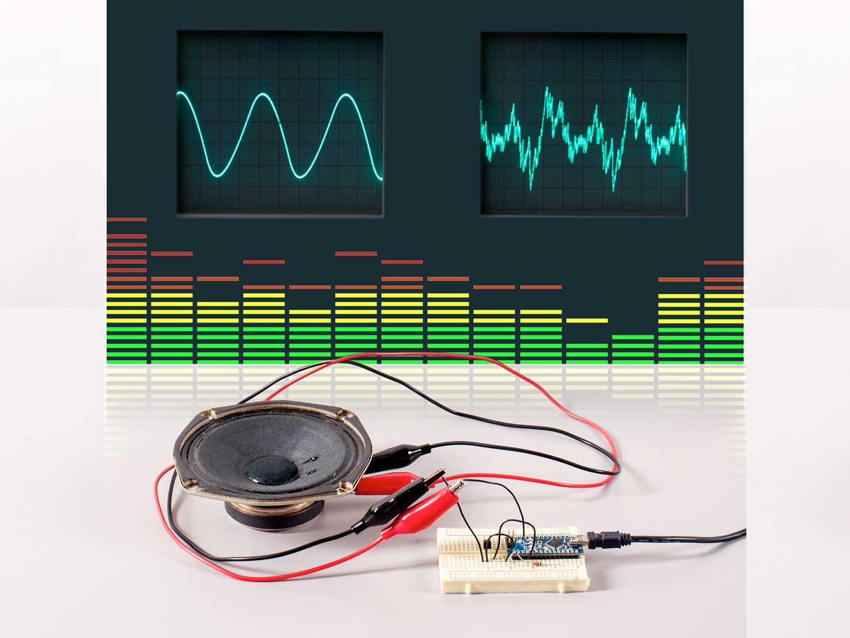 Skill Builder Advanced Arduino Sound Synthesis Make How To Build A Realtime Clock Circuit With An