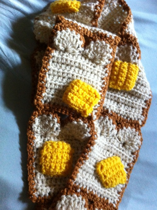 Buttered Toast Scarf