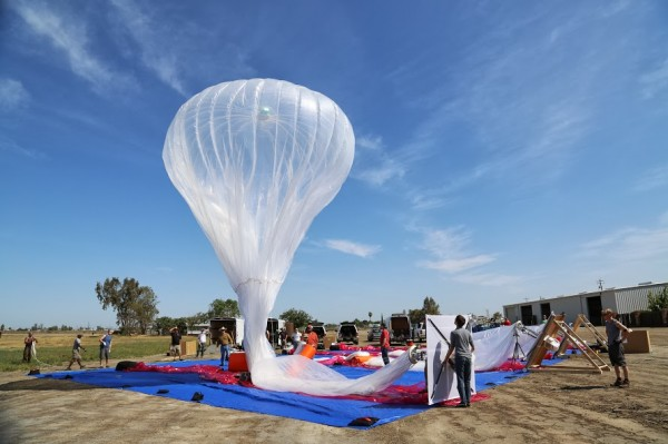 The sky is the Limit for Google's new Project Loon