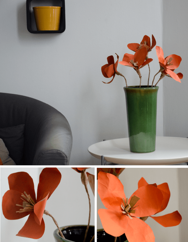 How-To: Pretty Paper Flowers from a Trader Joe's Bag