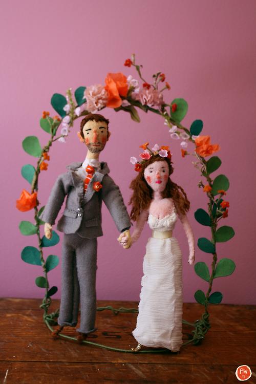 Homemade Wedding Sculpture